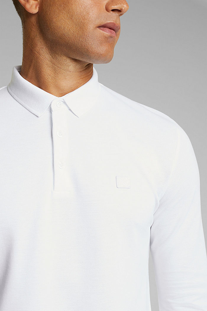 Polo shirts, WHITE, detail image number 1