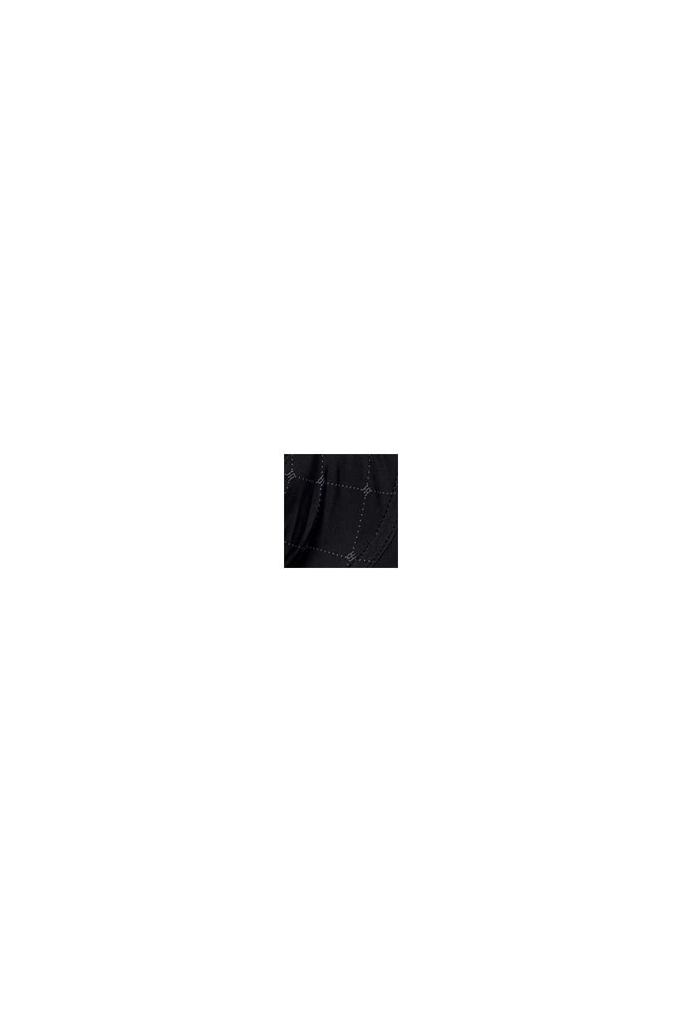 En matière recyclée: le soutien-gorge à armatures et imprimé monogramme, BLACK, swatch