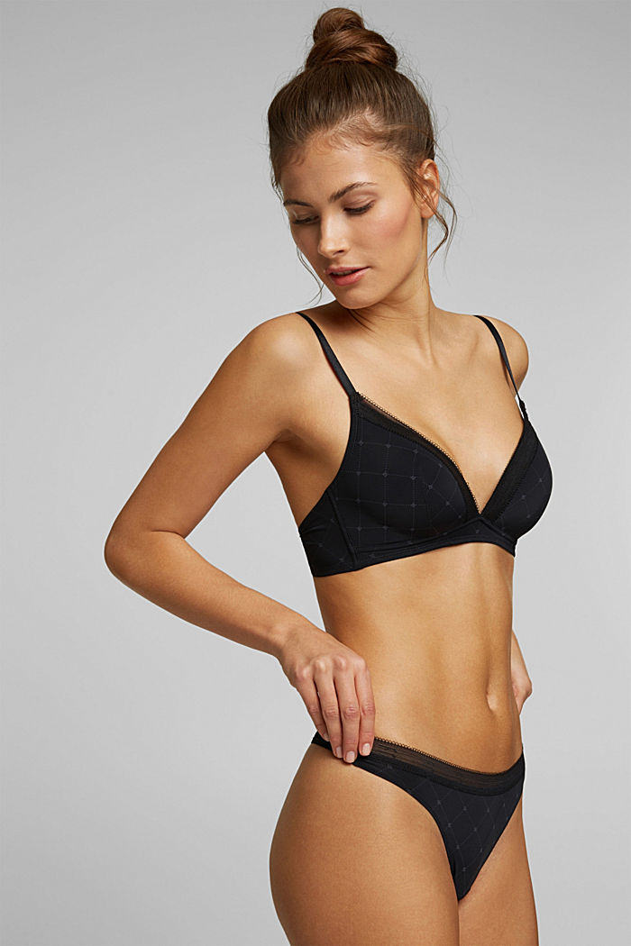 Recycled: padded bra