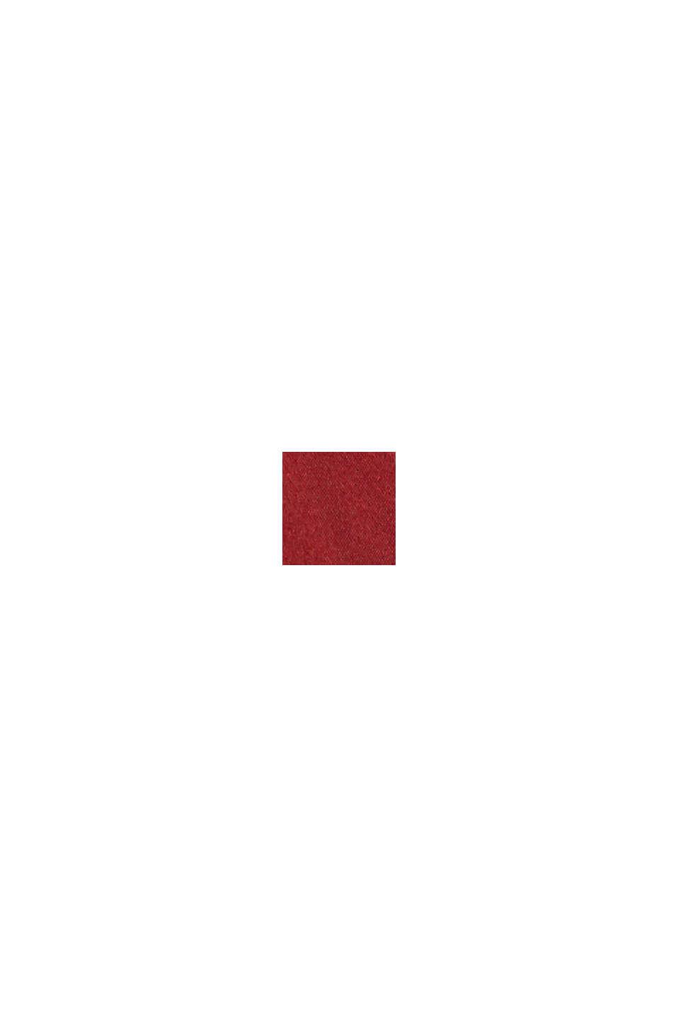 Vatteret bøjle-bh, DARK RED, swatch