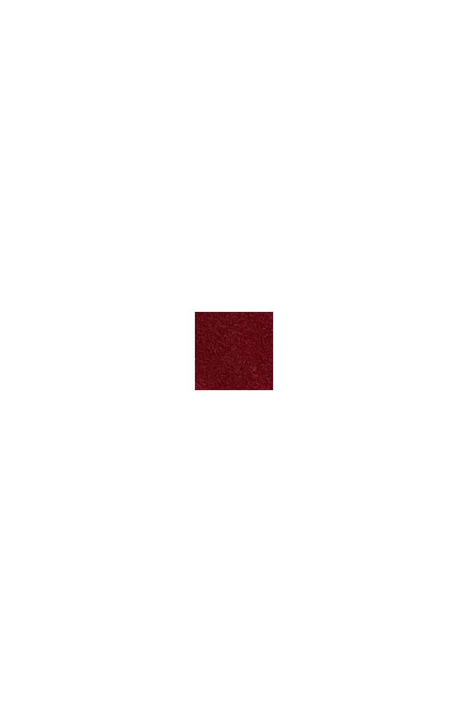 Bøjle-bh af mikrofiber, DARK RED, swatch