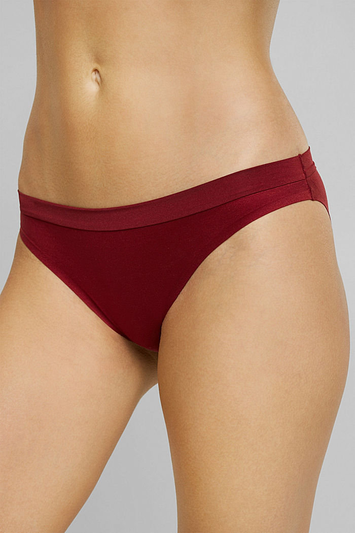 Soft, comfortable hipster briefs