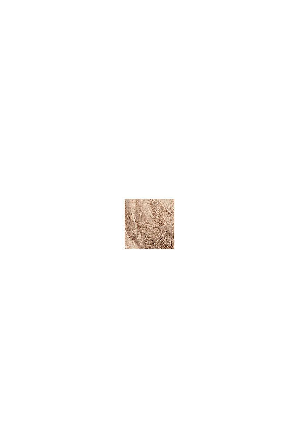 Recycelt: Bügel-BH mit Spitze, NUDE, swatch