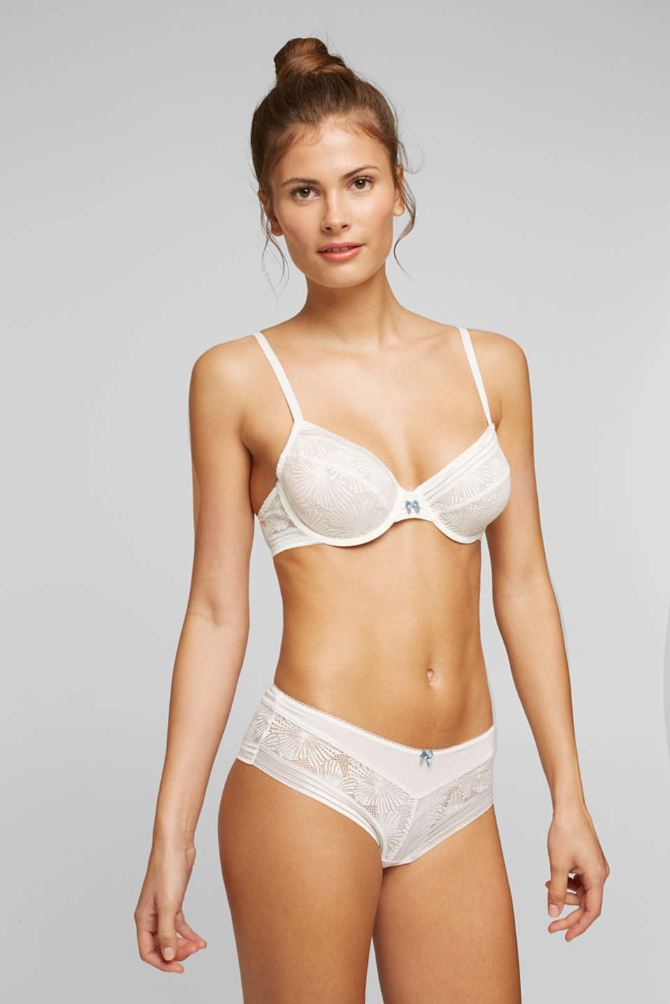 Esprit - Recycled: underwire bra with lace