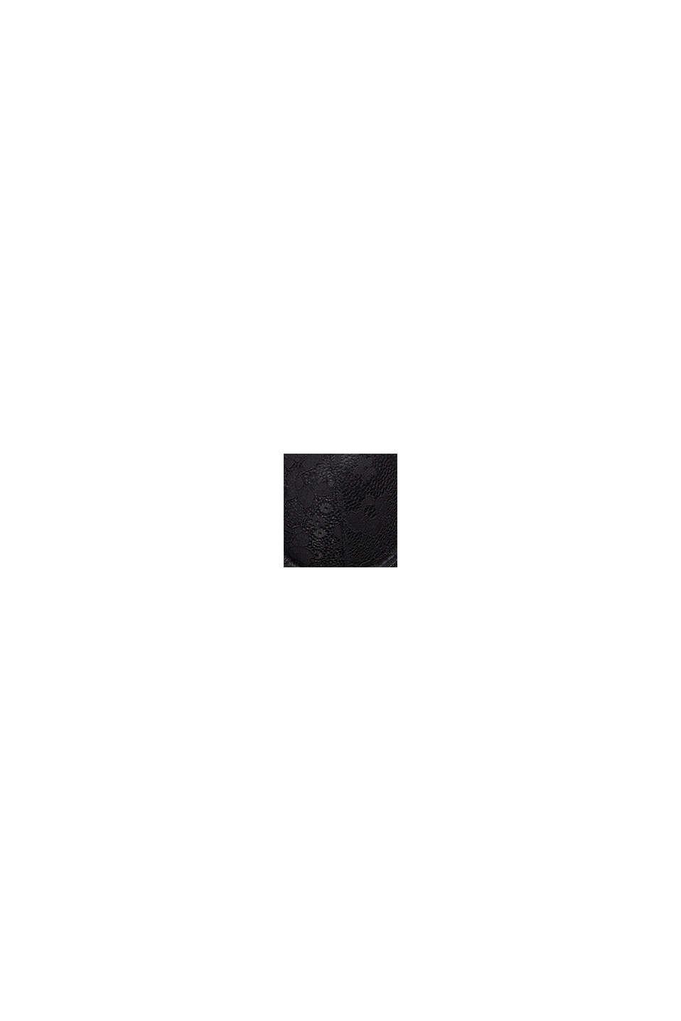 Wattierter Bügel-BH aus Spitze, BLACK, swatch
