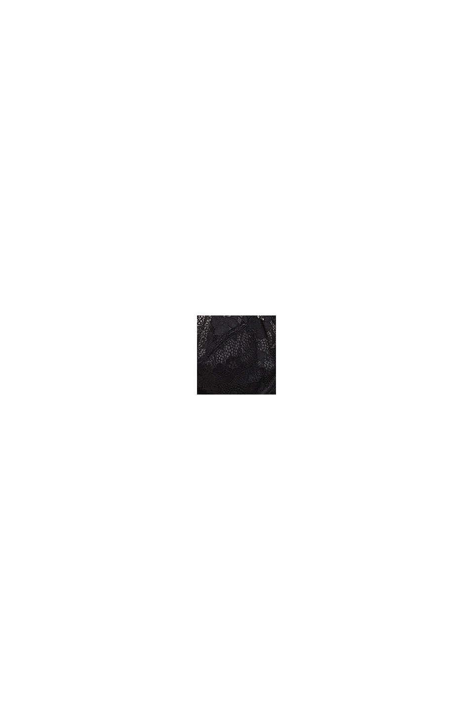 SG à armatures non rembourré, en dentelle, BLACK, swatch