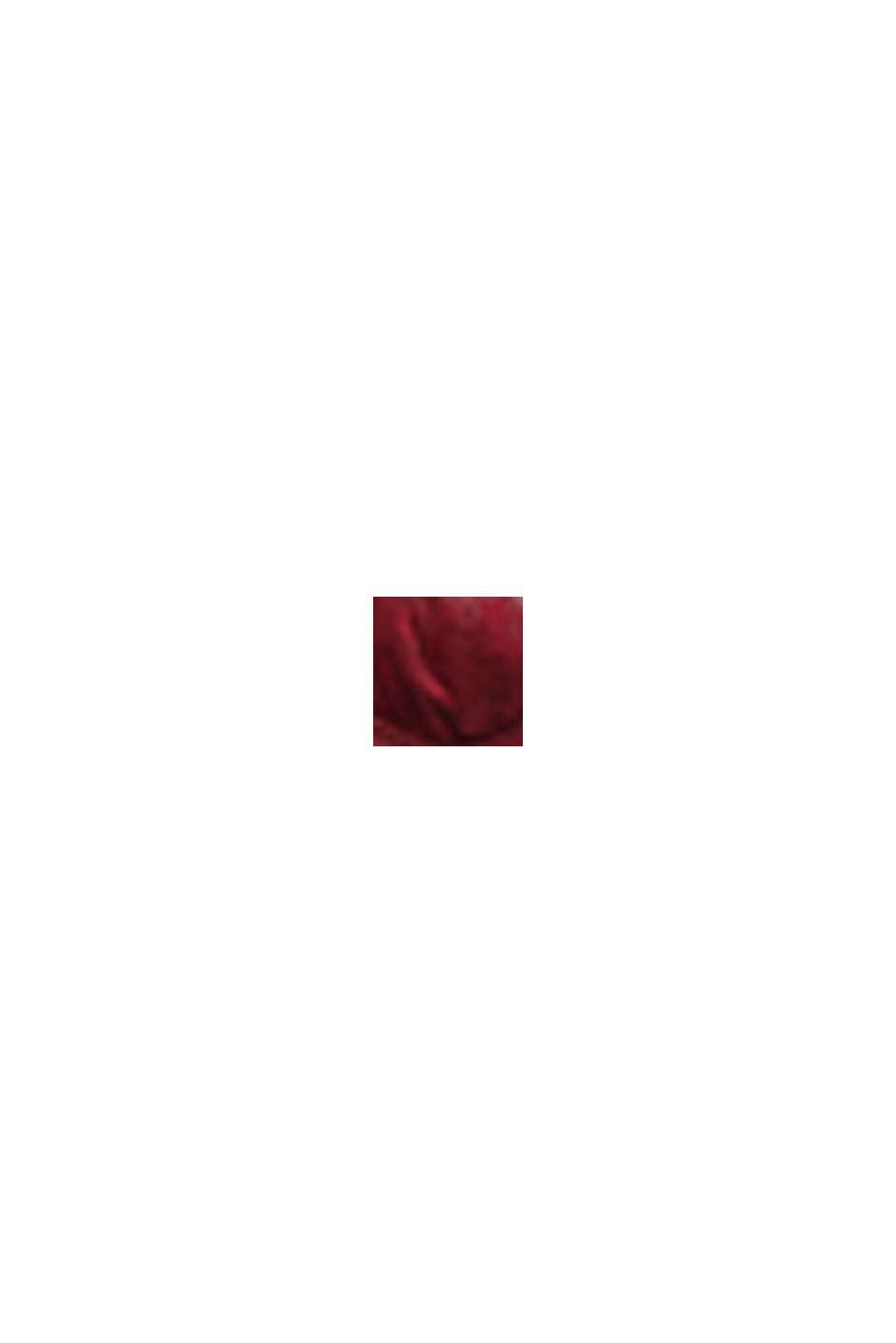 Unwattierter Bügel-BH aus Spitze für Big Cups, DARK RED, swatch