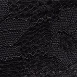 Padded wireless bra in lace, BLACK, swatch