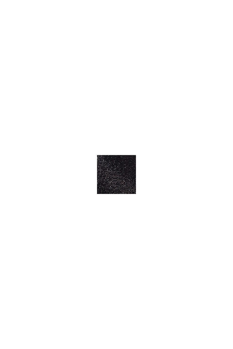 Push-Up-BH mit Glitzerstreifen, BLACK, swatch