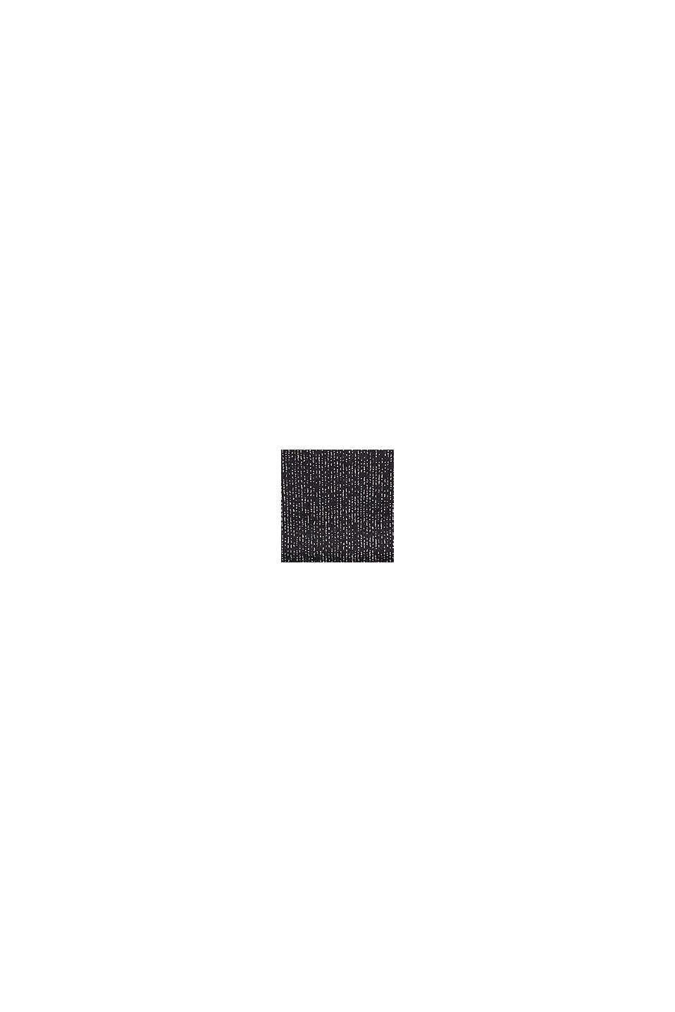 Hipstertrosa med glitterränder, BLACK, swatch