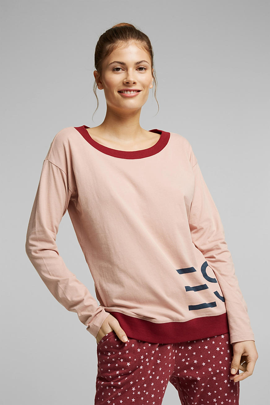 Mix + match longsleeve van 100% organic cotton