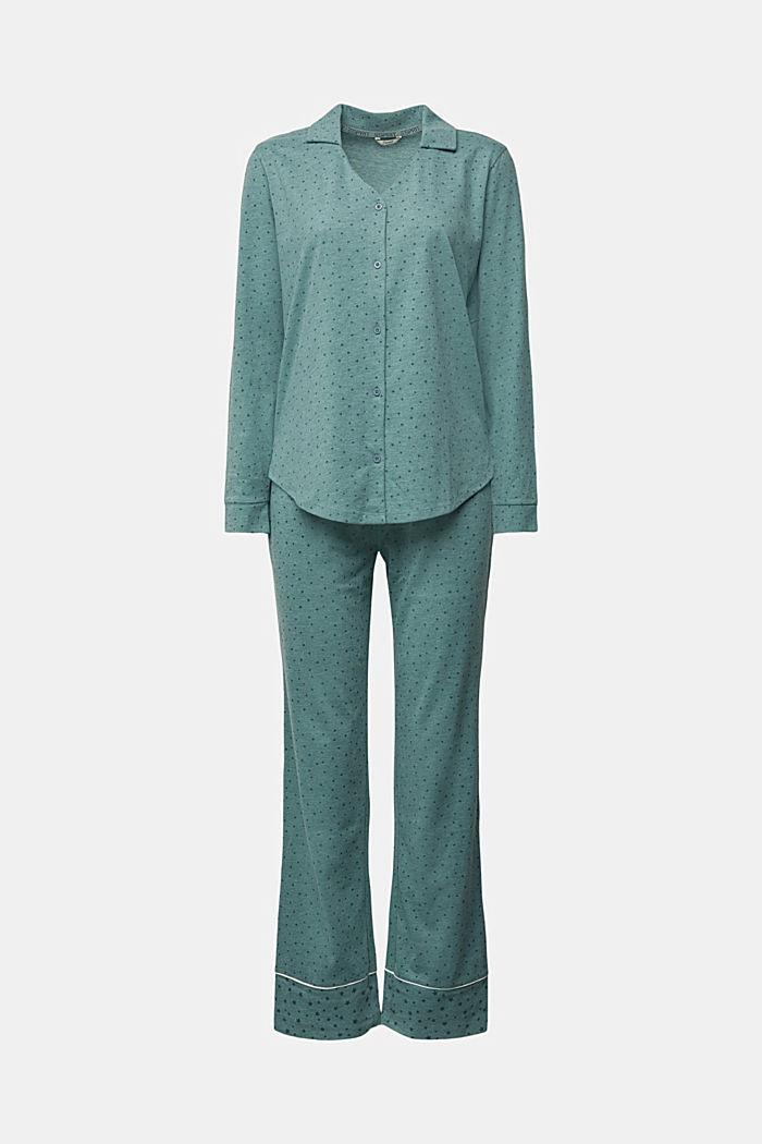 Pyjamas with an all-over print