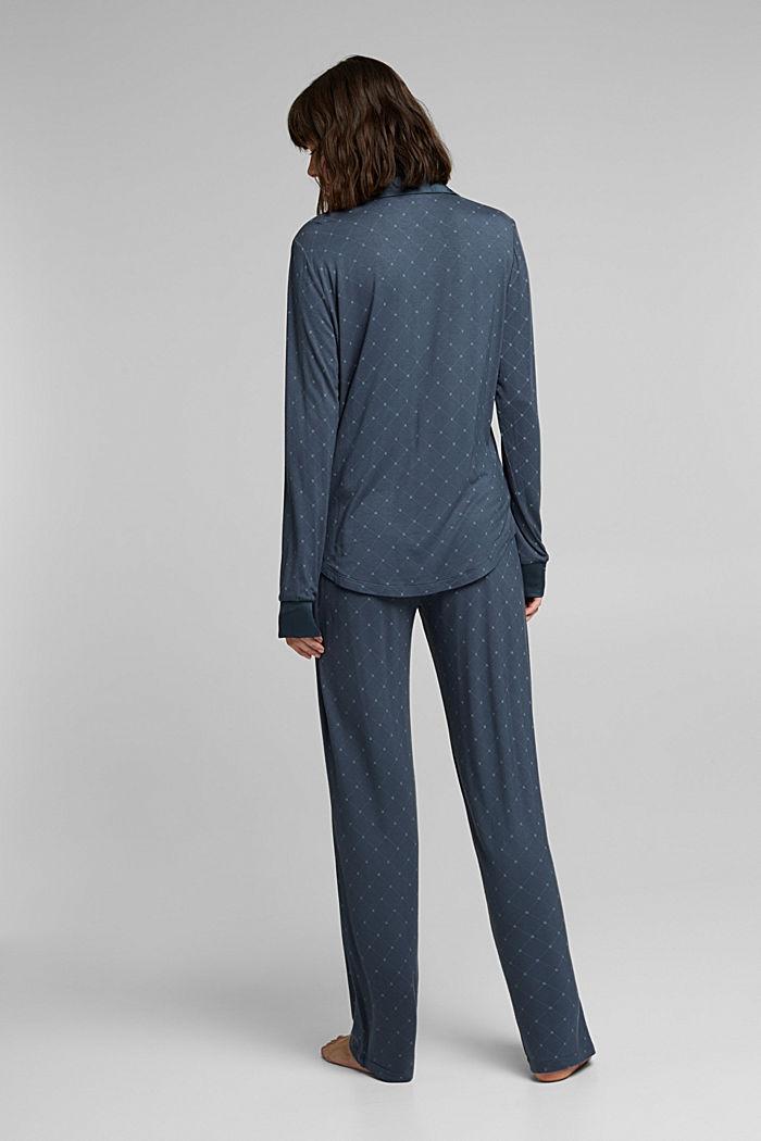 LENZING™ ECOVERO™ pyjamas, INK, detail image number 2