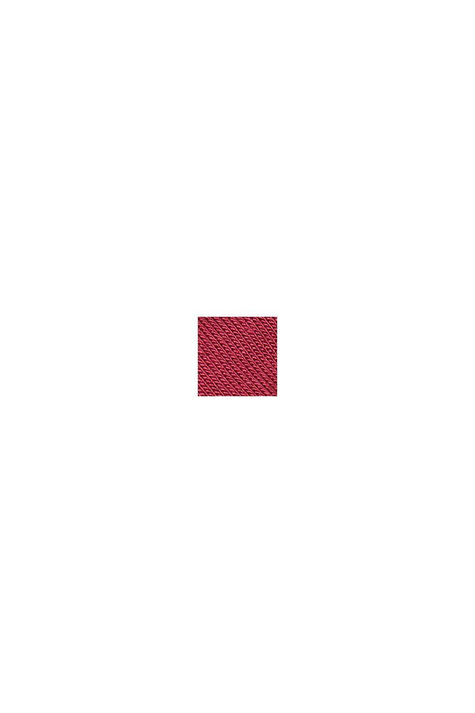 Chemise de nuit en LENZING™ ECOVERO™, DARK RED, swatch