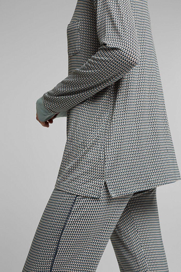 Jersey pyjamas in LENZING™ ECOVERO™, TEAL GREEN, detail image number 3