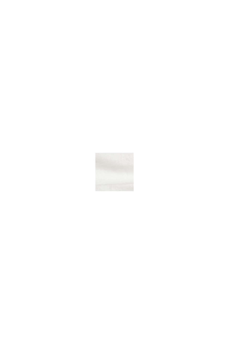 Maglia a manica lunga in 100% cotone biologico, OFF WHITE, swatch