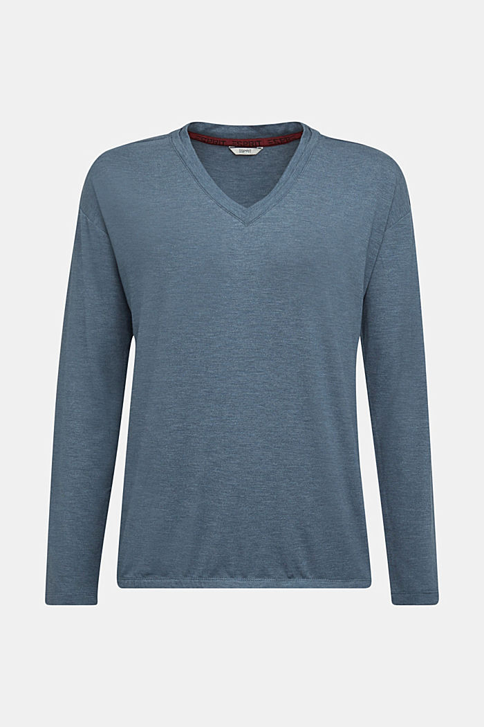 Long sleeve top with LENZING™ ECOVERO™