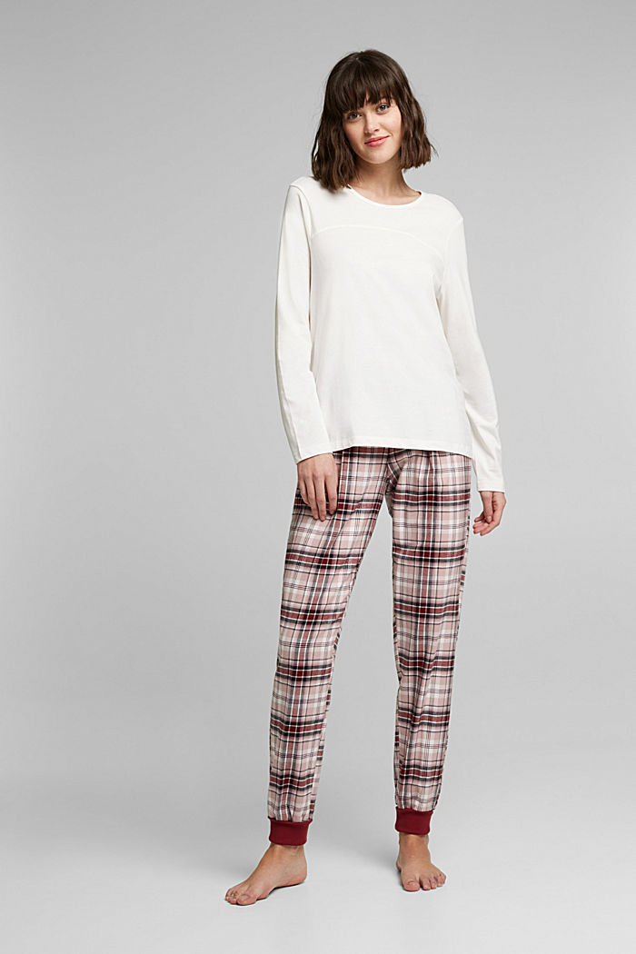 Pyjamas made of organic cotton