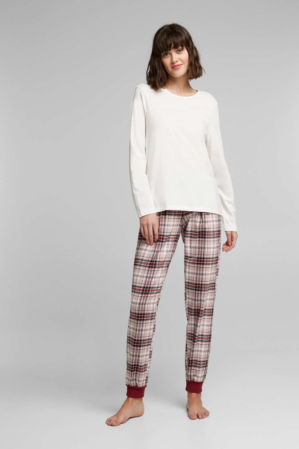Esprit - Pyjamas made of organic cotton