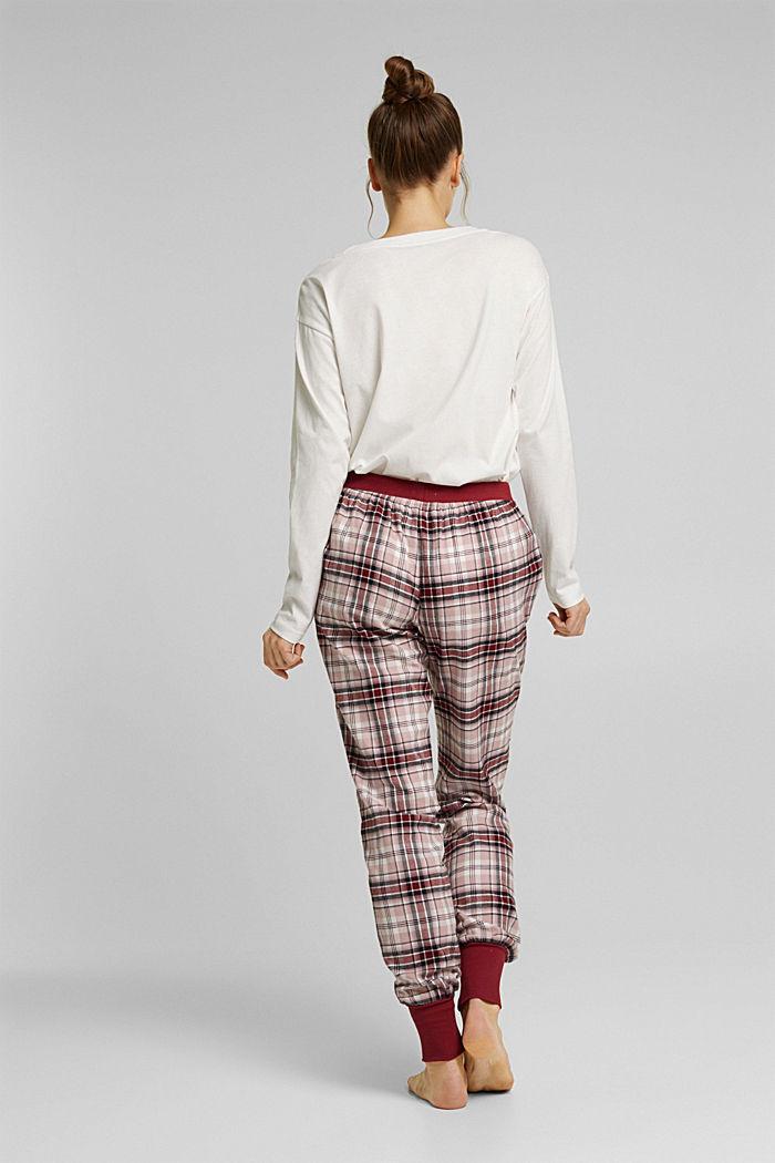 Pyjama bottoms, DARK RED, detail image number 2