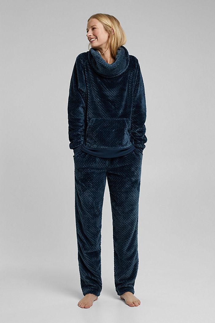 Softer Lounge-Sweater mit Tunnelkragen, INK, detail image number 0