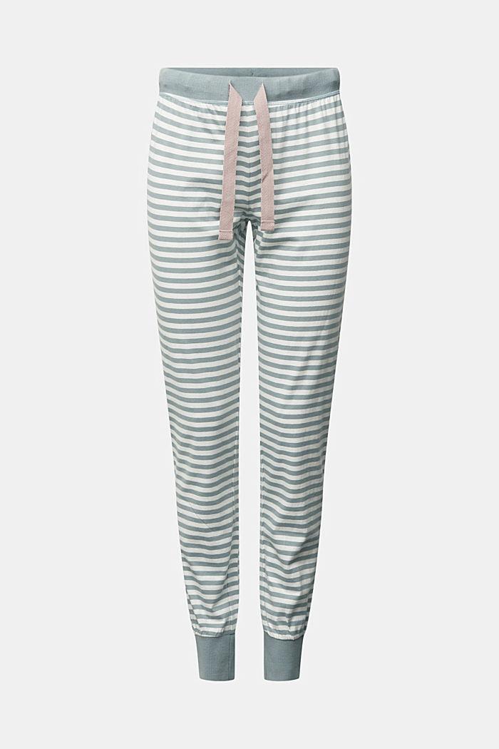 Pyjama bottoms in 100% organic cotton, OFF WHITE, detail image number 5