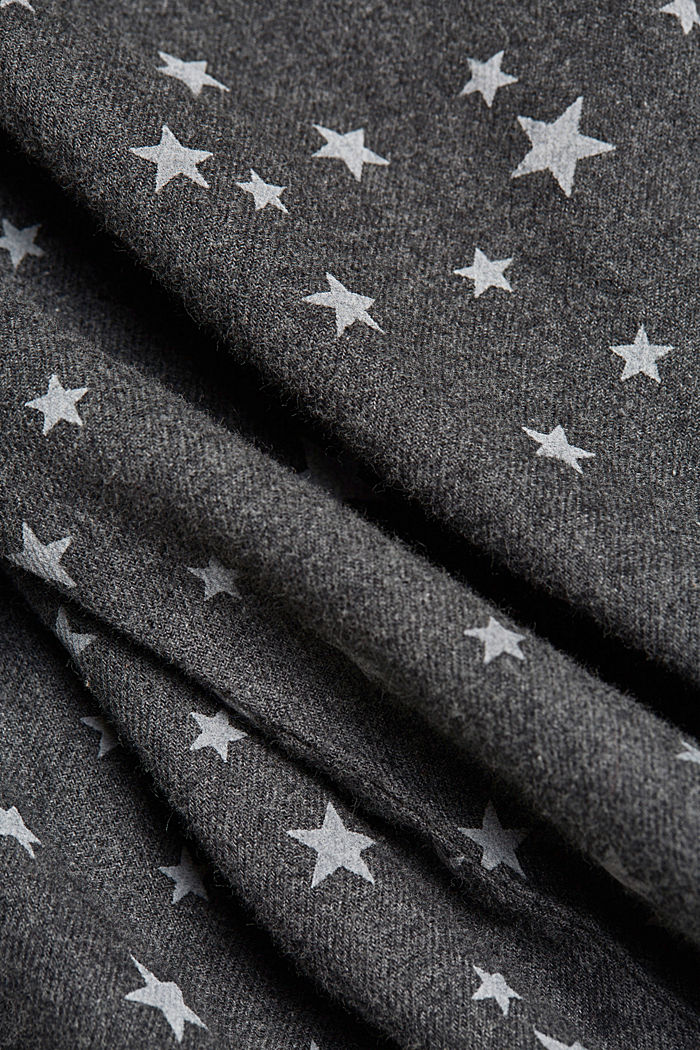 Nachthemd aus 100% Organic Cotton, ANTHRACITE, detail image number 4