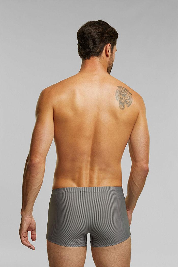 Recycelt: Microfaser-Shorts im 3er-Pack, BLACK, detail image number 1