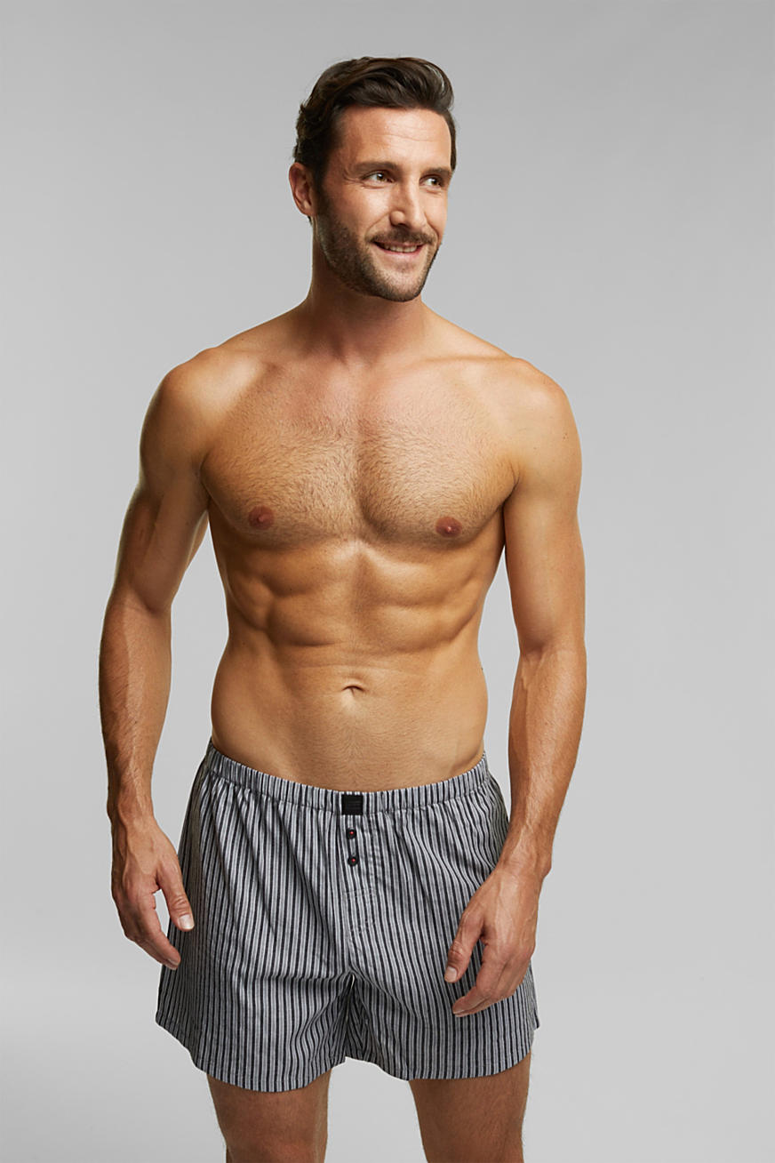 Double pack of boxer shorts, 100% cotton