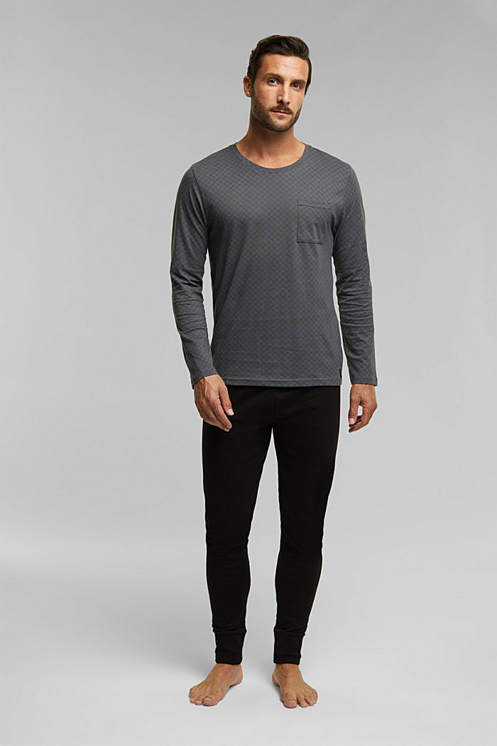 Pyjamas, BLACK, detail image number 0