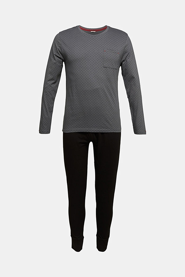 Pyjamas, BLACK, detail image number 3