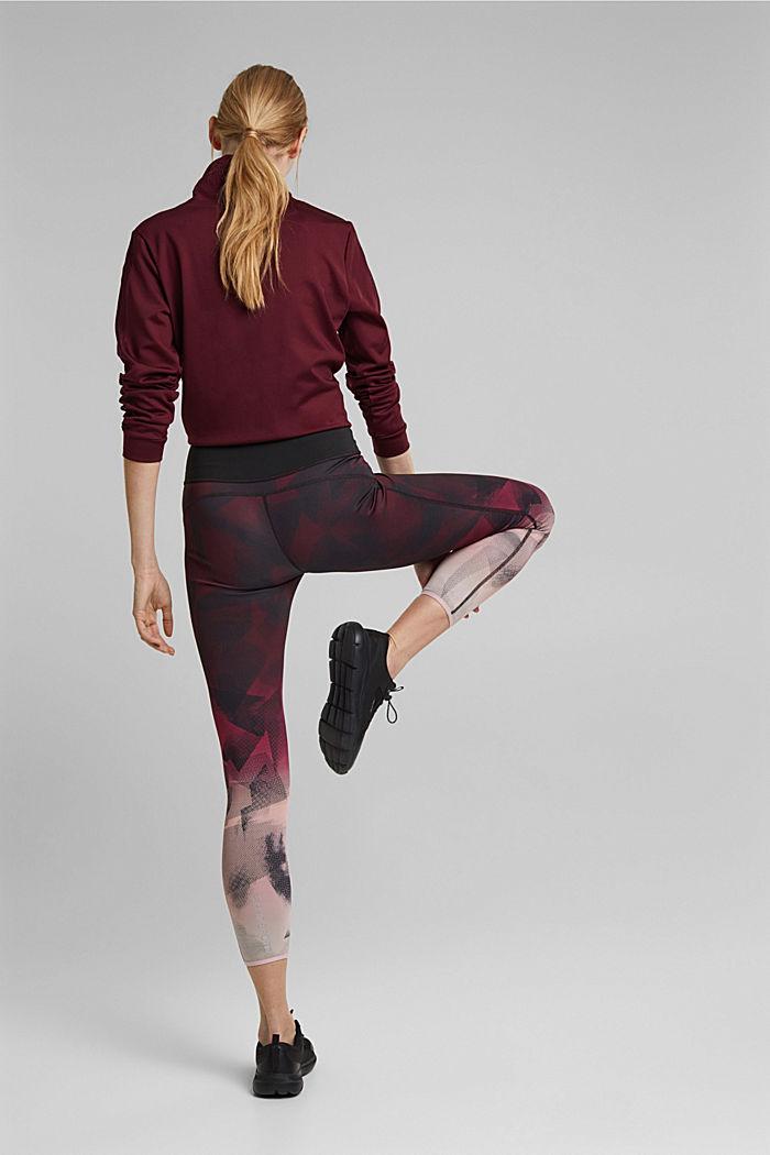 Reversible E-DRY leggings, BLACK, detail image number 3