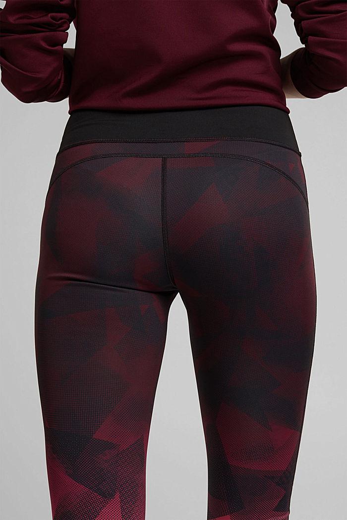 Reversible E-DRY leggings, BLACK, detail image number 2