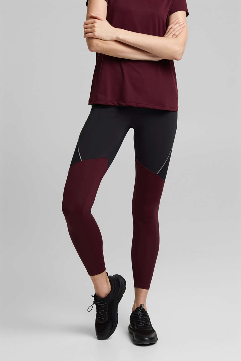 Esprit - Active leggings with E-DRY