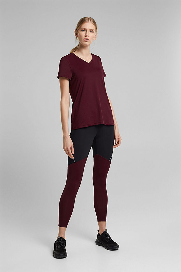 Active leggings with E-DRY, BLACK, detail image number 1