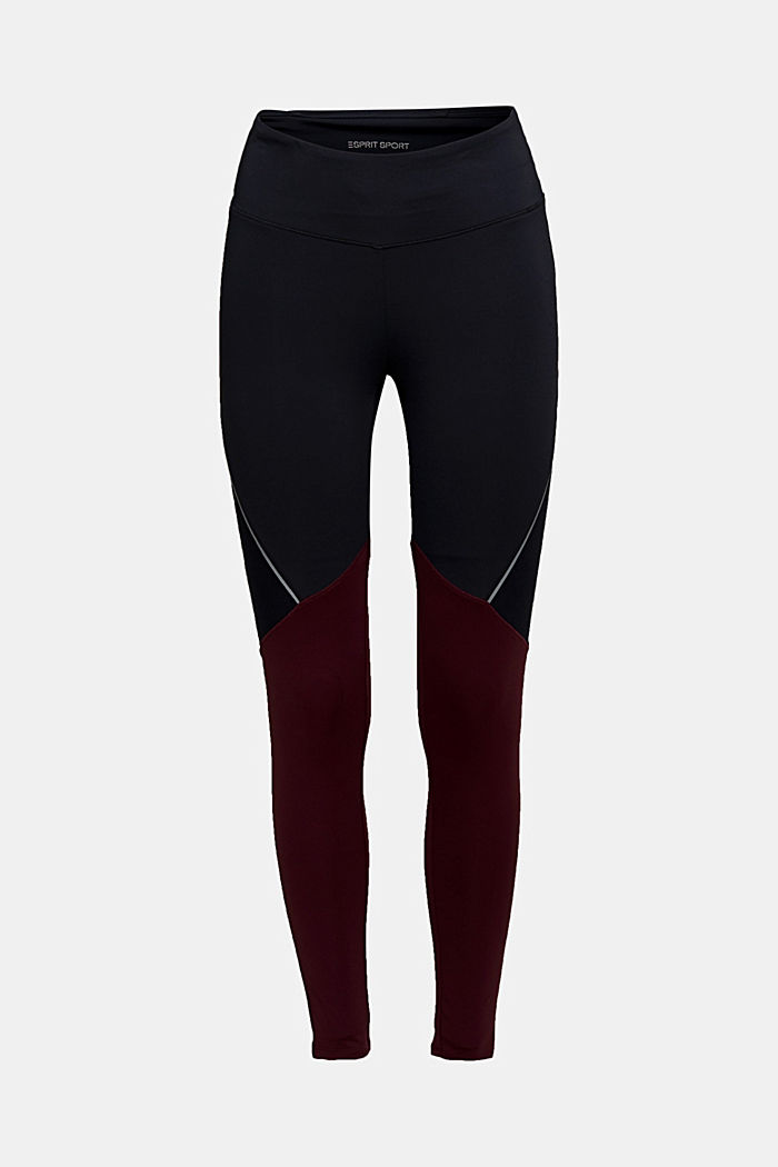 Active leggings with E-DRY, BLACK, detail image number 6