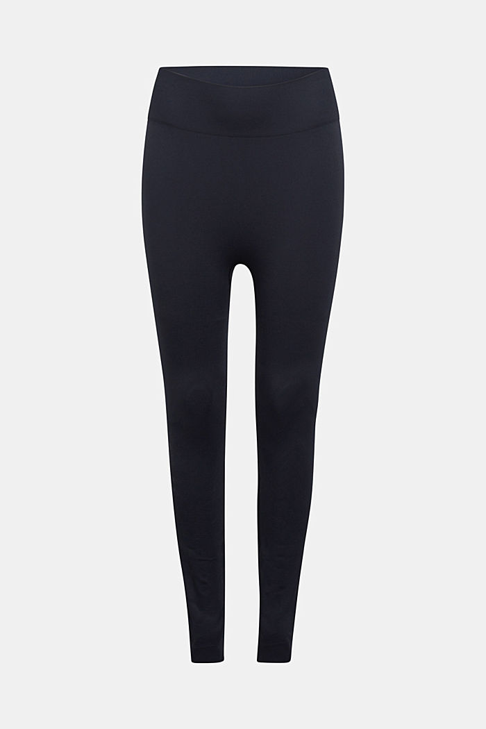 Active logo waistband leggings, E-DRY, BLACK, detail image number 8