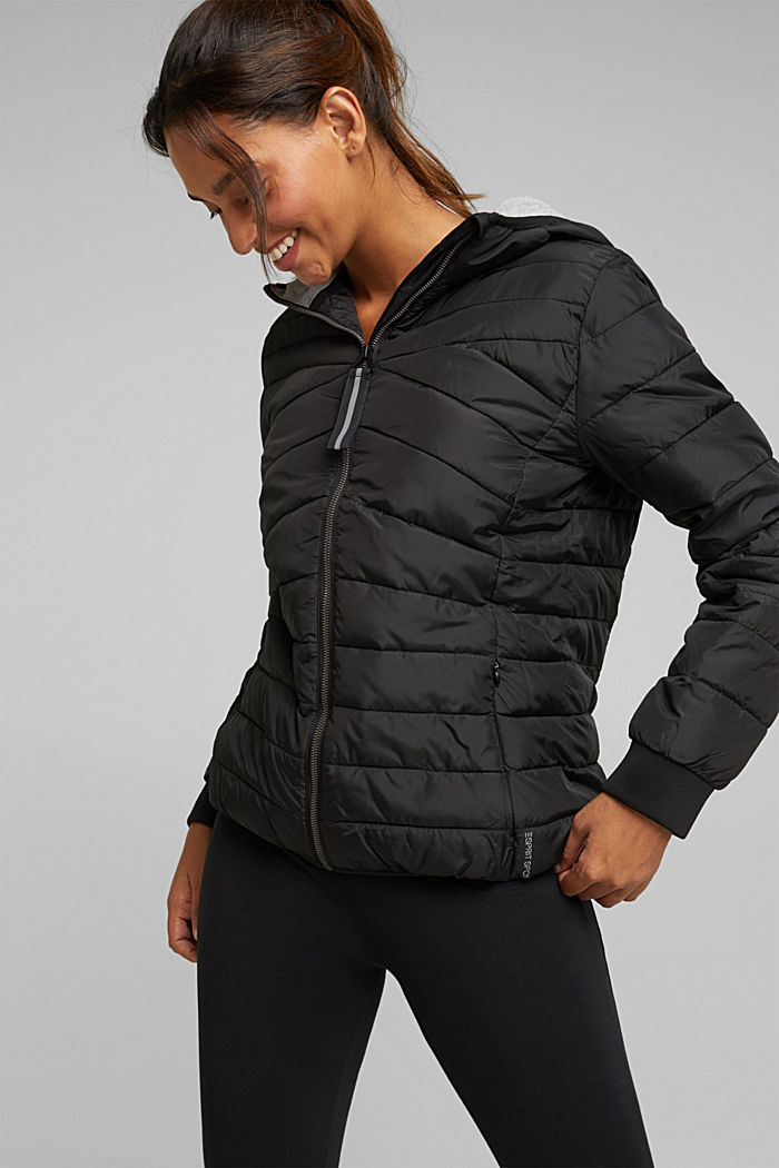 Quilted jacket with 3M™ Thinsulate™ filling, BLACK, detail image number 5