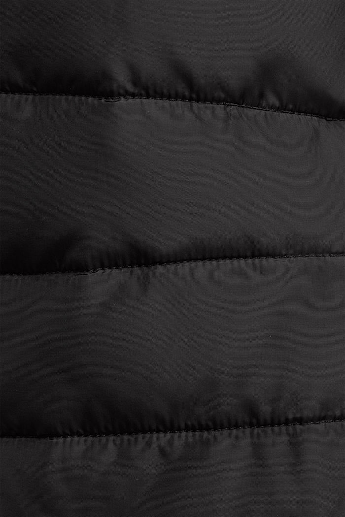 Quilted jacket with 3M™ Thinsulate™ filling, BLACK, detail image number 4