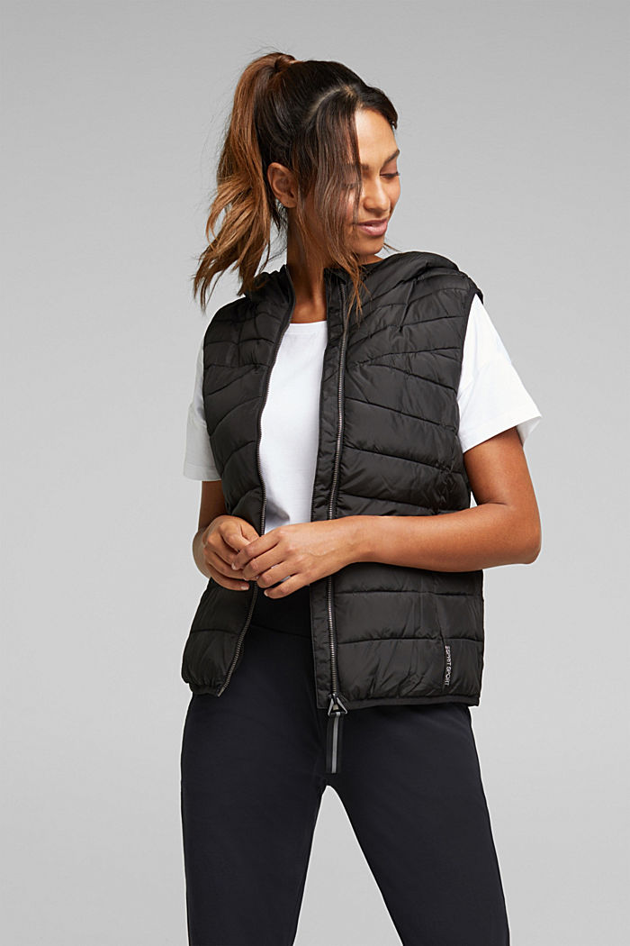 Body warmer with 3M™ Thinsulate™ filling, BLACK, detail image number 0