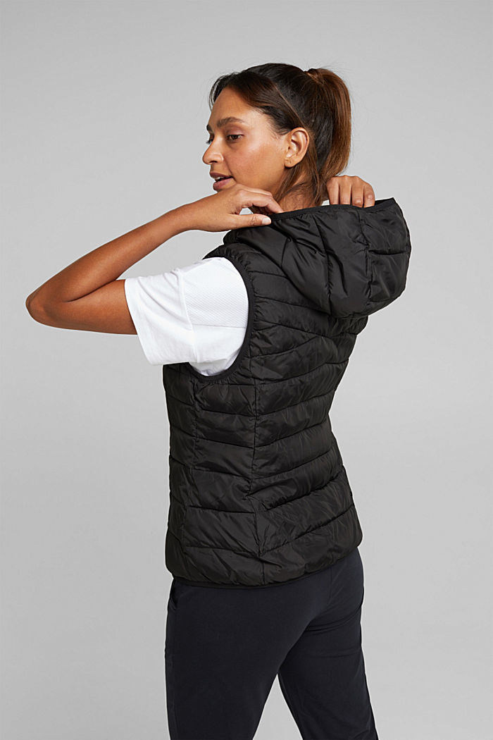 Body warmer with 3M™ Thinsulate™ filling, BLACK, detail image number 3