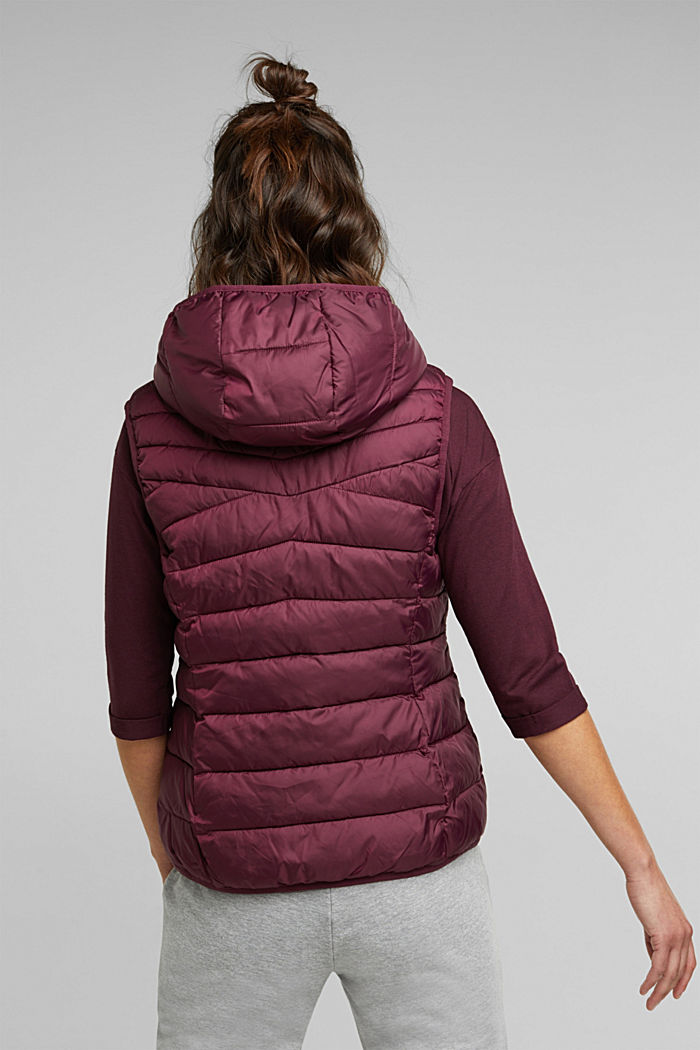Body warmer with 3M™ Thinsulate™ filling, BORDEAUX RED, detail image number 3