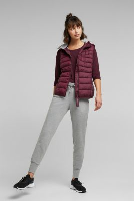 Body warmer with 3M™ Thinsulate™ filling, BORDEAUX RED, detail