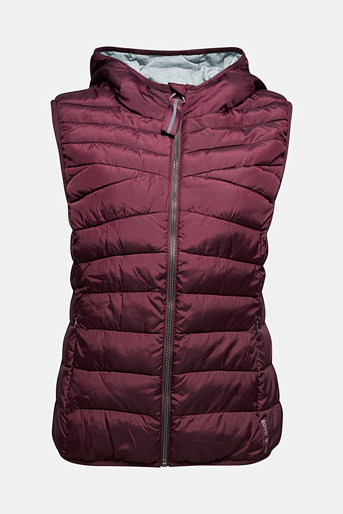 Body warmer with 3M™ Thinsulate™ filling, BORDEAUX RED, detail image number 6