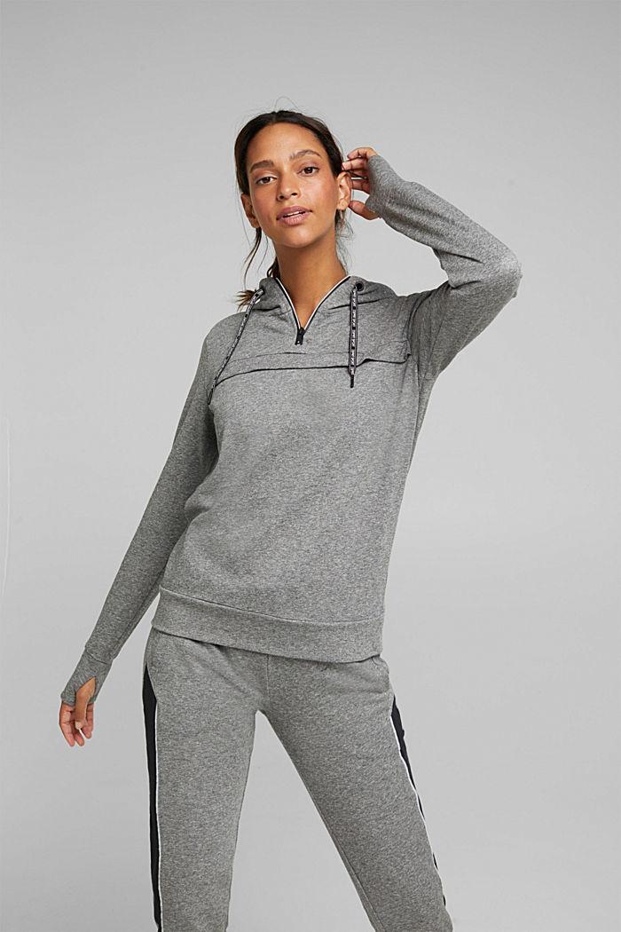 Kapuzen-Sweatshirt mit Bio-Baumwolle