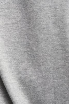 long sleeve top with organic cotton, MEDIUM GREY 2, detail