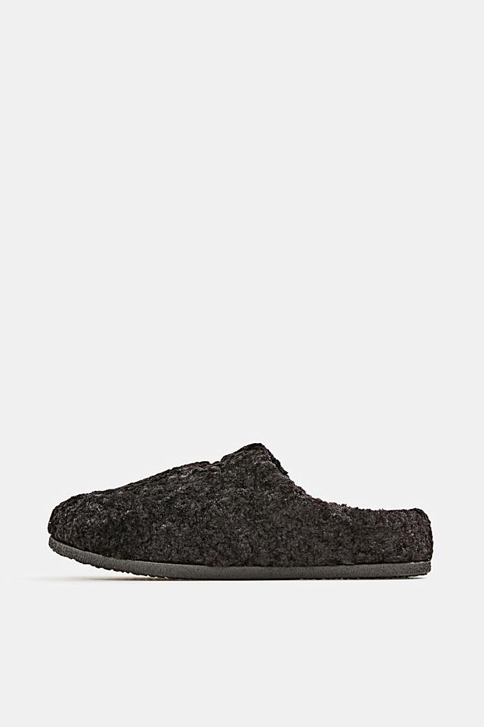 Chaussures sans lacets en peluche