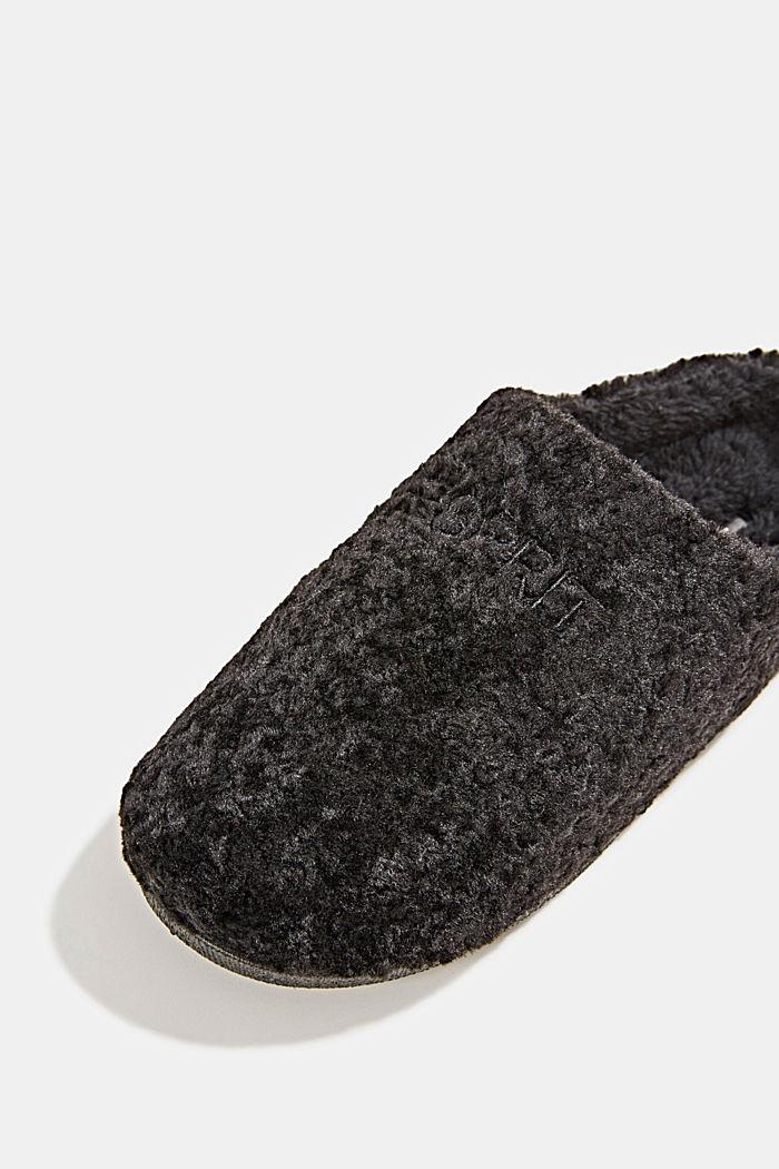 Instappers van teddy, BLACK, detail image number 4