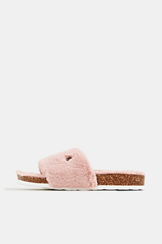 Slides with teddy plush