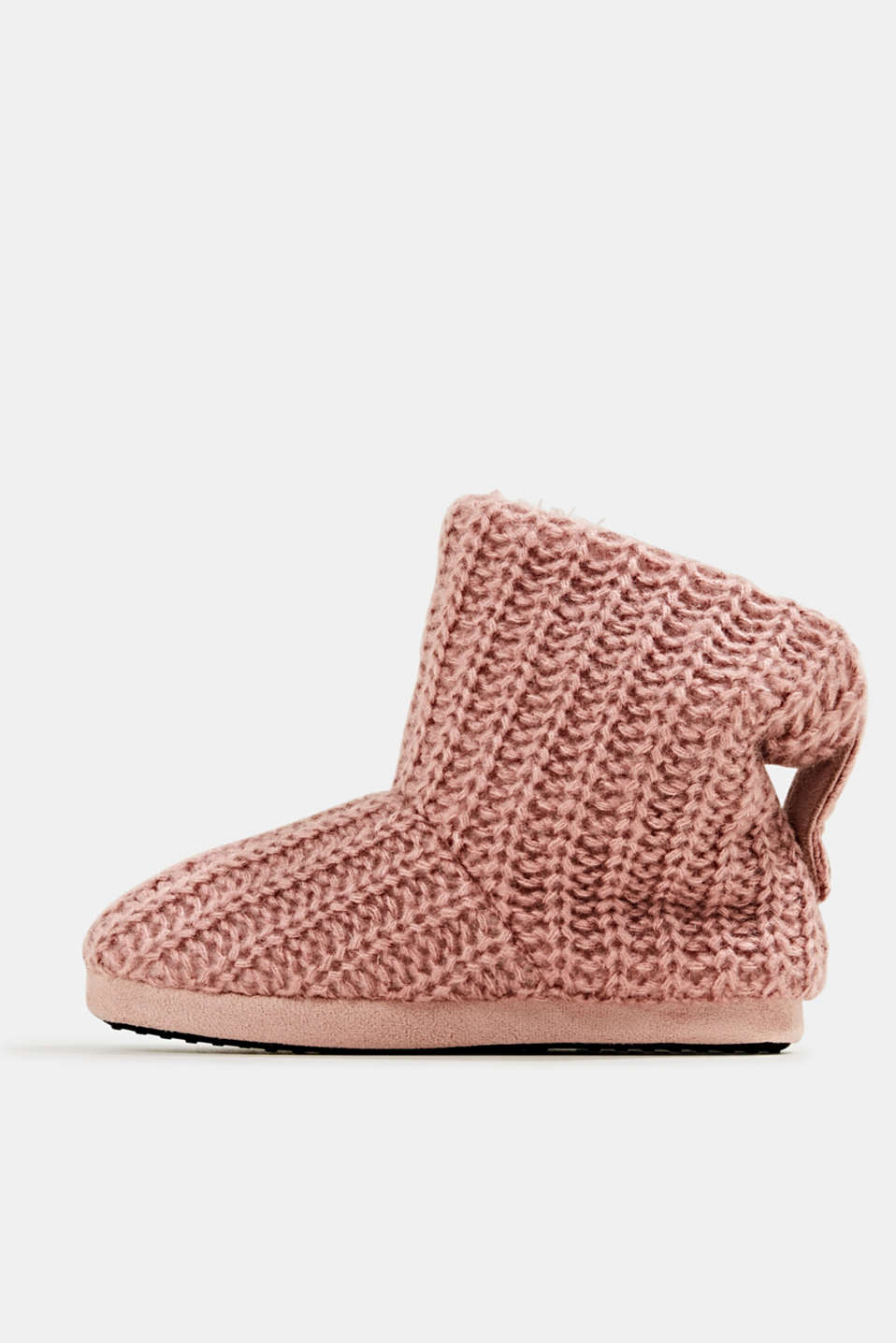 Esprit - Ankle boots with a knit shaft